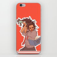 hermione iPhone & iPod Skins featuring Hermione (red) by batcii