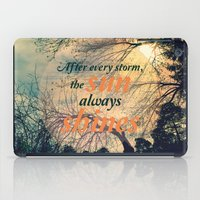sunshine iPad Cases featuring Sunshine by Graphic Tabby