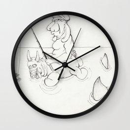 keep one's head Wall Clock