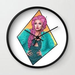 Farrah Moan Wall Clock