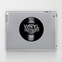 Vinyl is Killing the MP3 Industry Laptop & iPad Skin