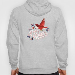 I am a voter. by Ariel Sinha Hoody