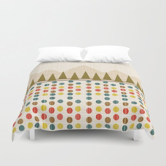The Forest in Spring Duvet Cover