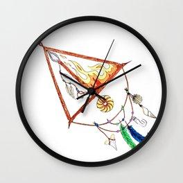 FIRE SAGITARIUS Wall Clock