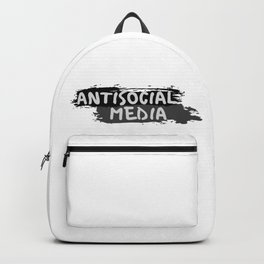 "Antisocial Media aka Anti-""Social Media"" Backpack"