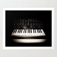 Electronica Art Print