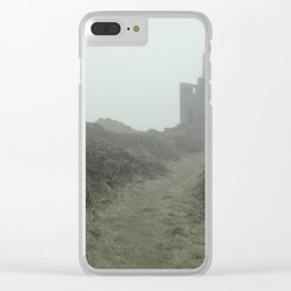 Higher Ball mine in the mist Clear iPhone Case