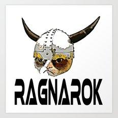 RAGNAROK  |  Grumpy Cat Art Print