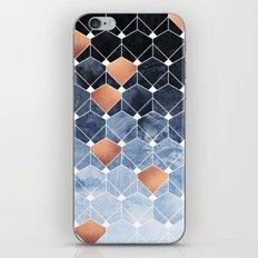 Copper Diamonds iPhone Skin