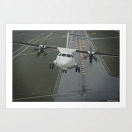 ATR 72-600 Art Print