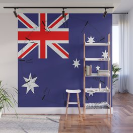 Flag of Australia Wall Mural