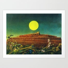 The Entire City by Max Ernst Art Print