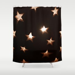 Hallow Stars Shower Curtain