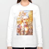 faith Long Sleeve T-shirts featuring Faith by Ganech joe