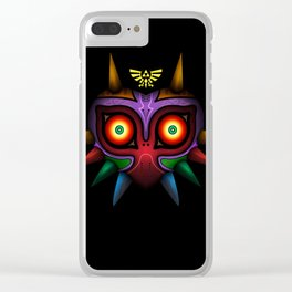 The Mask Of Majora Clear iPhone Case