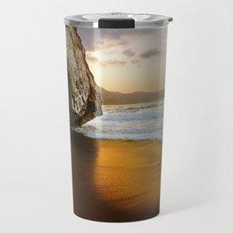 Golden Beach, Nerja, Spain Travel Mug