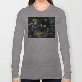 Edouard Manet - In the Conservatory Long Sleeve T-shirt