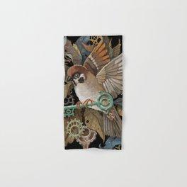 Clockwork Sparrow Hand & Bath Towel