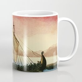 Drakkar, watercolor Coffee Mug