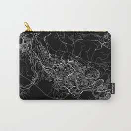 Bilbao Black Map Carry-All Pouch