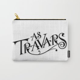As Travars - To Travel (black) Carry-All Pouch