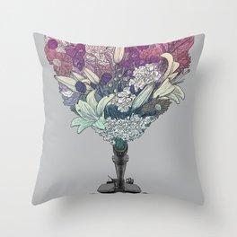 Ka-Bloom Throw Pillow