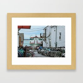 A View of the Chippewa Framed Art Print