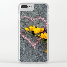 Sunshine Of Your Love Clear iPhone Case