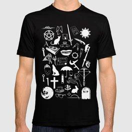 Buffy Symbology, White T-shirt