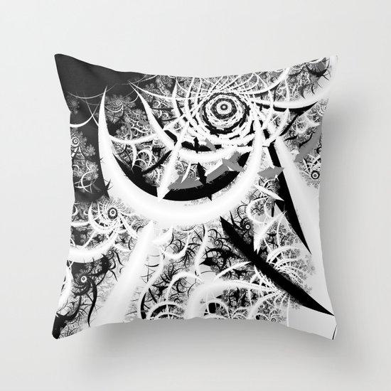 Through the Void Throw Pillow