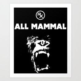 Rx - All Mammal Art Print