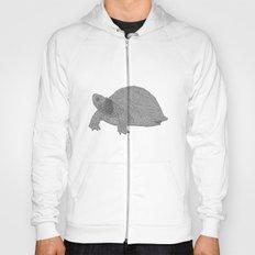 Turtle Illustration B/W Hoody