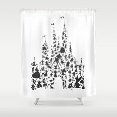character castle...  Shower Curtain