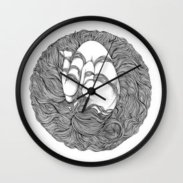 LOST IN HER DREAMS Wall Clock