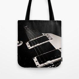 Pop Art Guitar Tote Bag