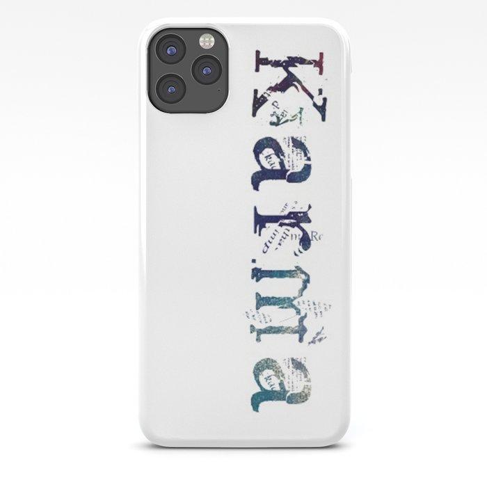 Karma White Iphone Case By Siegs Art Society6