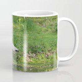 Heron Standing In Water Coffee Mug