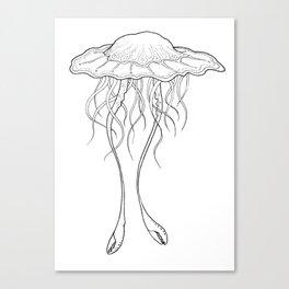 #3 Jellyfish Series Canvas Print