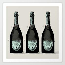 Dom Perignon Champagne Art Print