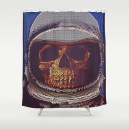 At A Certain Distance In space Or Time Shower Curtain