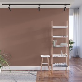 Dunn and Edwards 2019 Curated Colors Rosewood (Brown) DEC706 Solid Color Wall Mural