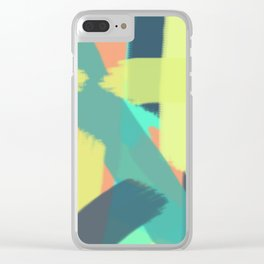 slashed Clear iPhone Case