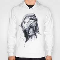 hell Hoodies featuring Wild Rage by Philipp Zurmöhle
