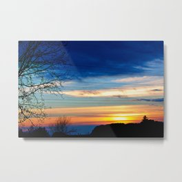 Sunset 2 Metal Print