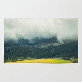 Foggy Morning Meadow Rug
