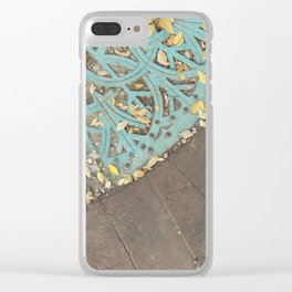 Iron Lace Clear iPhone Case