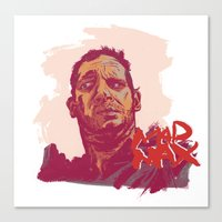 mad max Canvas Prints featuring Mad Max by Andy Christofi