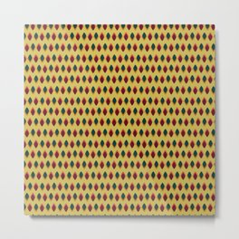 points cells paint texture plaid triangle polka Metal Print