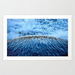 spillway Art Print