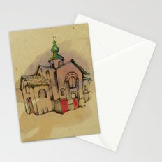 Russian church Stationery Cards